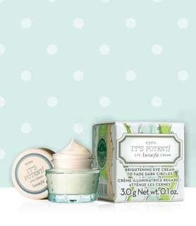 NEW! Benefit it's potent! Eye cream