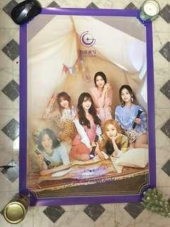 GFriend Poster: Time for the Moonlight