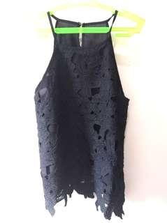 Sale! Black Lacy Top