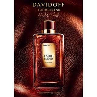 Davidoff Leather Blend 100ml Edp Sealed