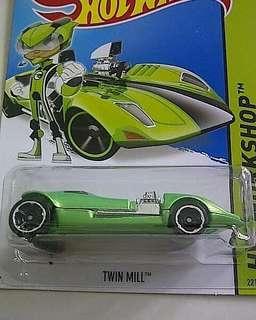 Hotwheel twin mill