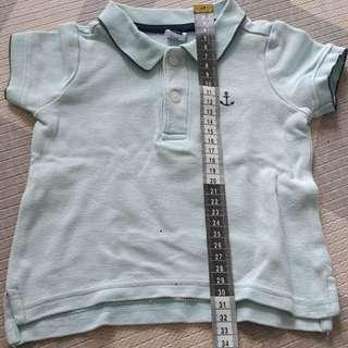 Janie&Jack Baby Shirt with Collar (3-6moths)
