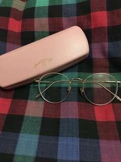 Thin Gold-framed Glasses