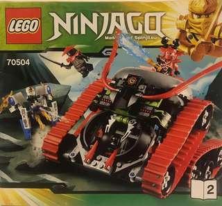 Lego Ninjago model 70504