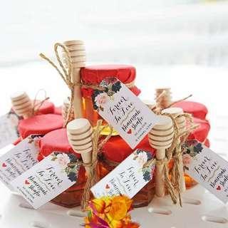Honey in jar ❤