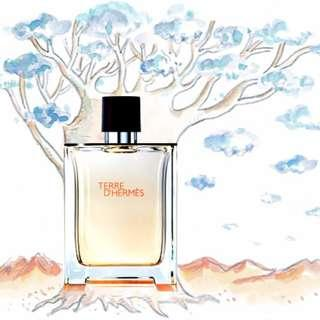 Hermes Terre D'Hermes 75ml Parfum Tester