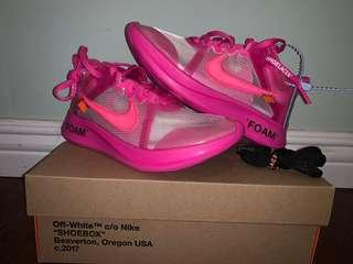Nike Zoom Fly Off White Size 5