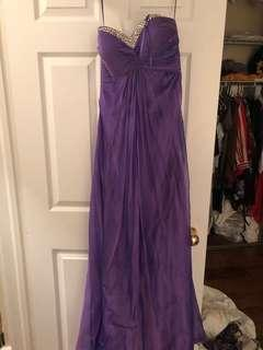 Size 2 worn once prom dress