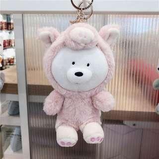 We Bare Bear Ice Bear Plushie