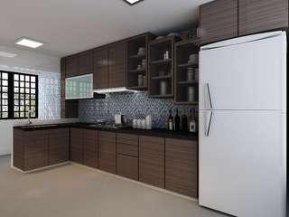 Renovation kitchen cabinet direct factory price