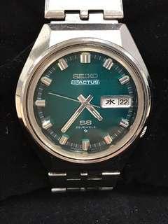 Vintage 1973 Seiko 5 Actus 6106-7690 Automatic Watch
