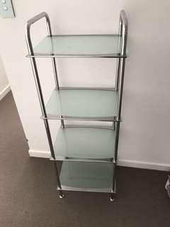 Tempered glass shelves