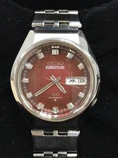 Vintage 1973 Seiko Actus 5 6106-7690 Automatic Watch