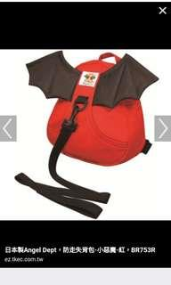 日本製 紅惡魔防走失背包