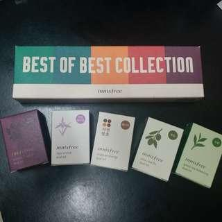 Innisfree special five best of collection travel kit 悅詩風吟精選護膚套裝