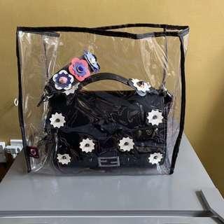 Transparent Bag Case, Small 200, Medium, 250