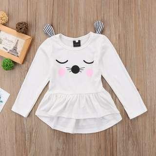 🚚 Instock - cat whiskers dress, baby infant toddler girl