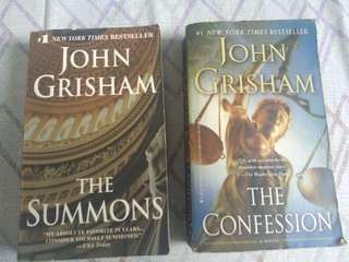 The Summons/ The Confession  By John Grisham