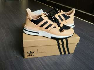 1a4db9bfdd4cc ADIDAS Consortium + Hender Scheme ZX 500 RM MT Leather and Mesh