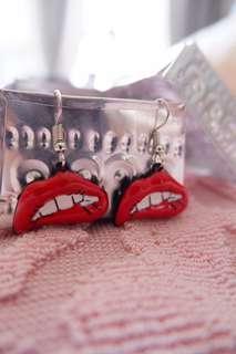 Lips Earring