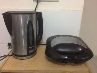 Water Boiler and toaster