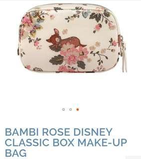 Cath Kidston  Bambi Cosmetic Bag