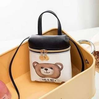Small bear bag 2in1