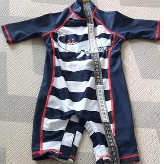 Baby Overall Rashguard (Freesize)