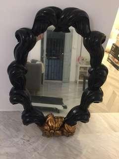 Modern Baroque Style Mirror