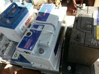 各類歐日電池$100一粒,須一換一