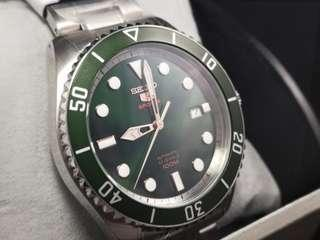 Seiko SRPB93 Green dial Sunburst Limited Edition