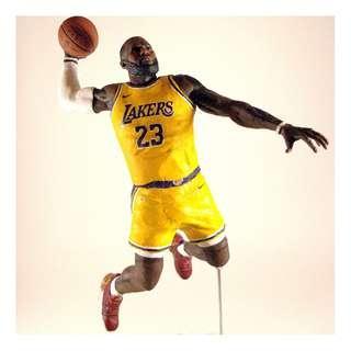 Lebron James Los Angeles Lakers Custom McFarlane Action Figure