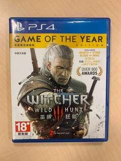 PS4 巫師3 年度版 Witcher 3 Game of the Year Edition