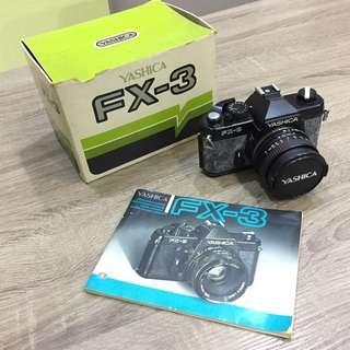 Yashica FX-3 SLR Camera