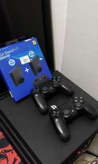 Play Station 4 pro jailbreak with stand