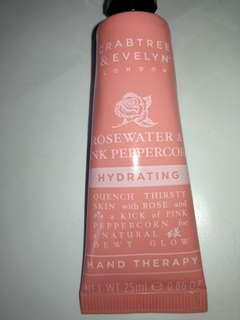 Crabtree and evenyn 25ml rosewater & pink peppercorn