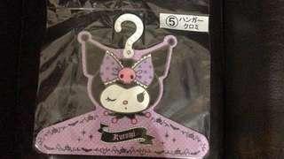 日本 Sanrio 抽獎品 Kuromi 衣架