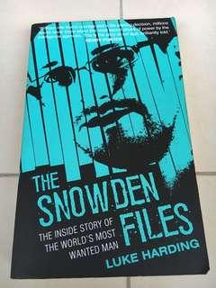 🚚 The Snowden files - 346 pages