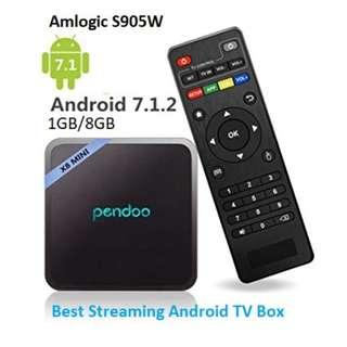 BEST TV BOX - PENDOO X8 MINI 1GB/8GB Amlogic S905W Quad Core ARM Cortex A53