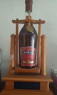 Martell Vsop 3 liters with wooden stand