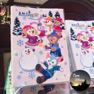 [Xmas Sale] 2018 Christmas - Duffy and Friends Lined Notebook 單行記事簿 