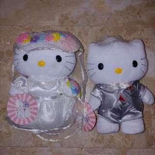 BNIB Hello Kitty & Dear Daniel Plush Toy / Dolls McDonald's Limited Edition Collectibles 2000