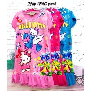❤Bargain Sale❤ Hello Kitty Jersey Dress J200 *Buy any 3 and above@ RM11 each*