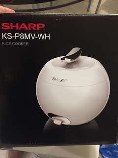 Sharp apple rice cooker