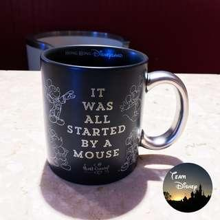"""[Xmas Sale] Mickey 90 Party Event - """"IT WAS ALL STARTED BY A MOUSE"""" Mug 米奇90派對盛事 - """"IT WAS ALL STARTED BY A MOUSE"""" 水杯 """