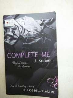 J Kenner Complete Me