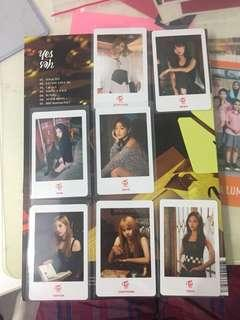 Wts twice bdz hi touch event photocards