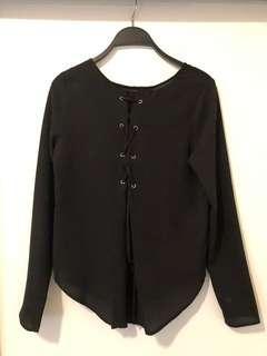 Black blouse size S/160