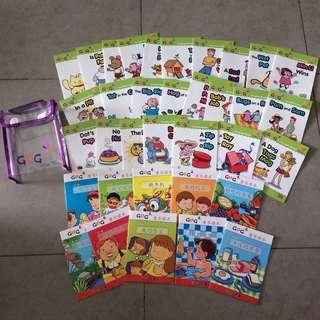 Preloved 35 GUG Preschool English and Chinese Readers for N2 level