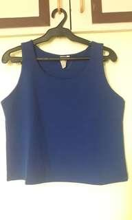 Shapes Royal Blue top